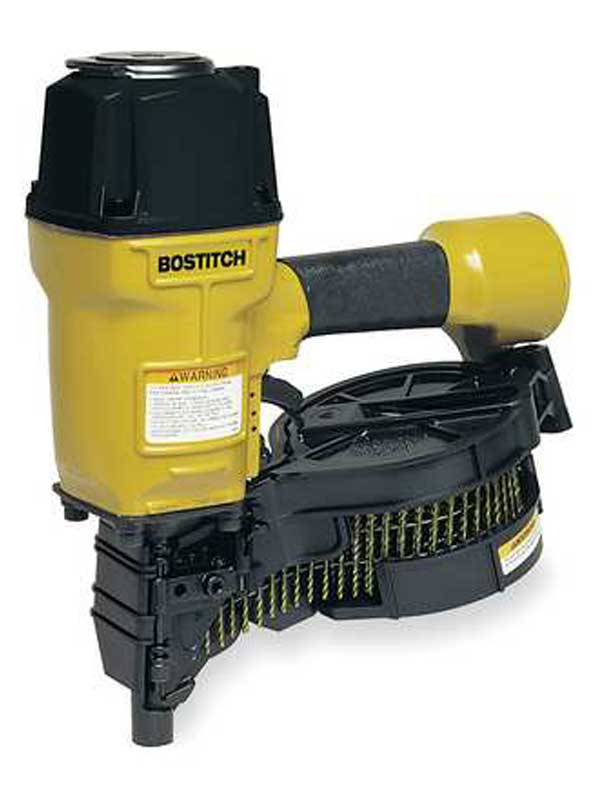 Nailer – Fencing, coil type w/compressor