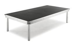 Stage/Risers, 4′ x 8′ Aluminum