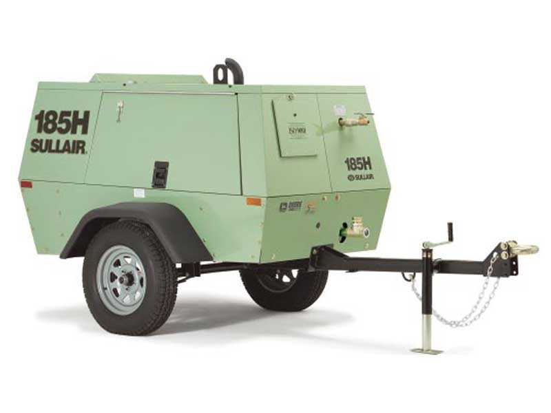 Air Compressor - towable 185 - All Seasons Rent All