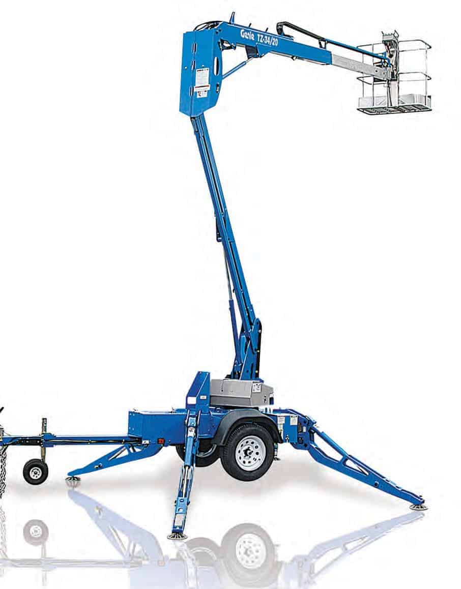 Genie Lift TMZ 34 19 34 Trail Mounted